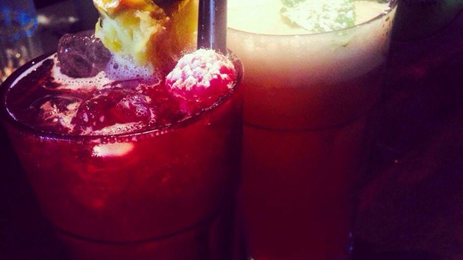 Verse cocktails in cocktailbar La Promesa te Zele